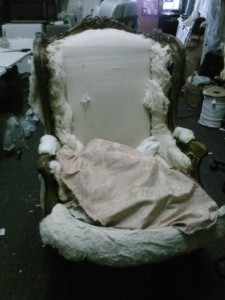 custom furniture reupholstery