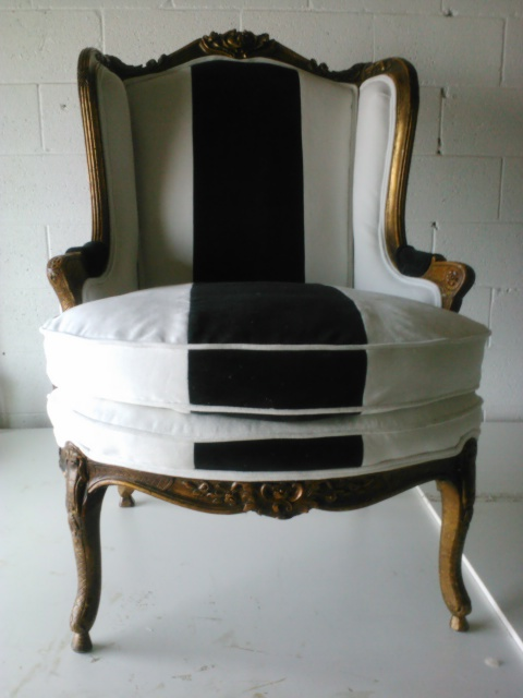 Louis XV Chair Receives a Facelift