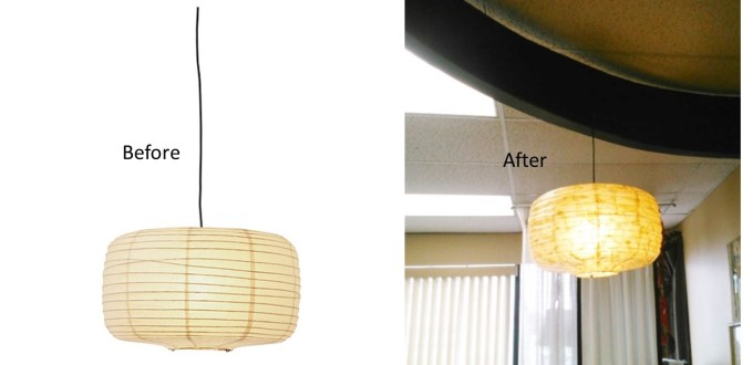 Fix Or Customize Paper Lamp Shade