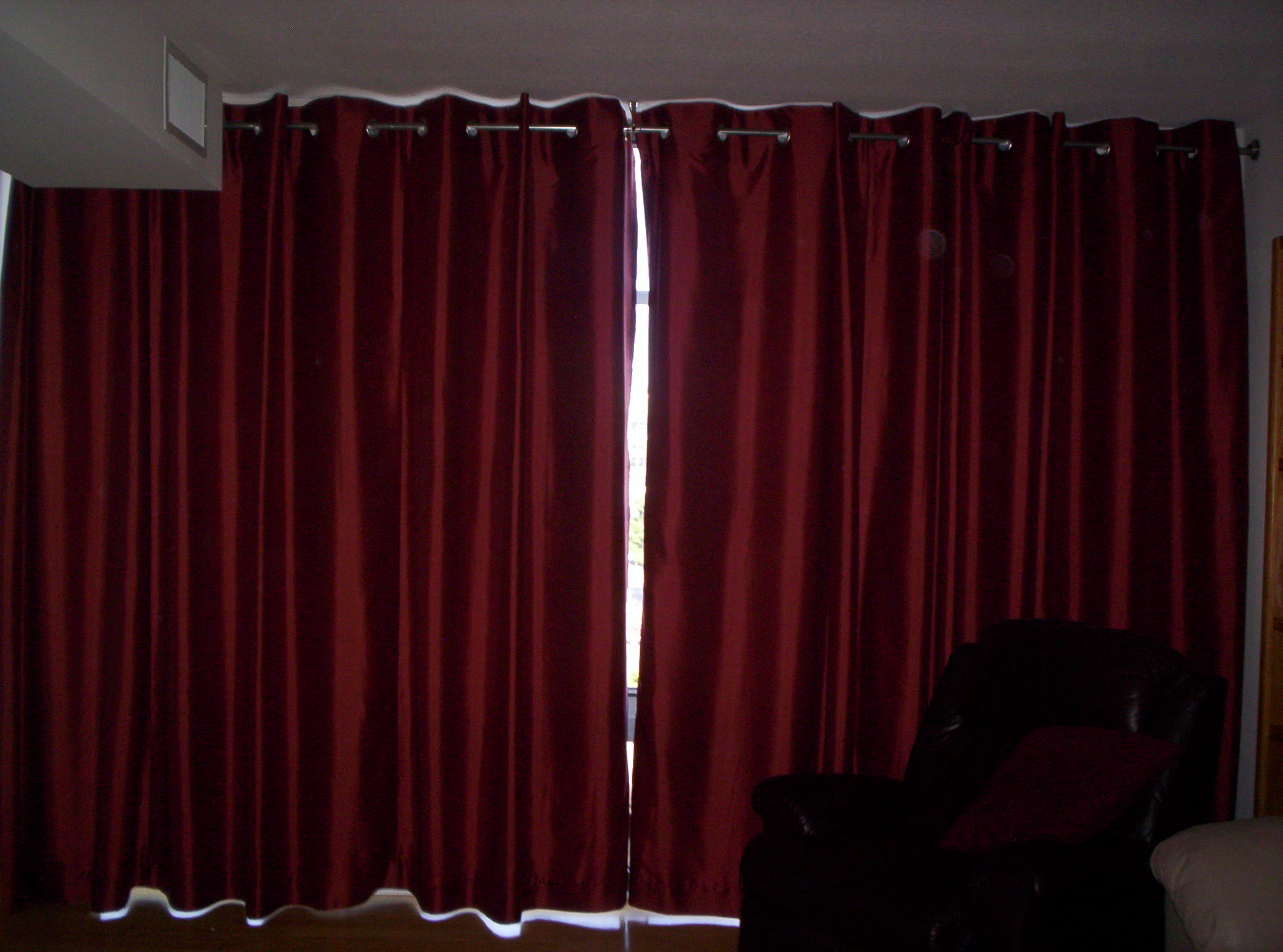 grommet top drapes